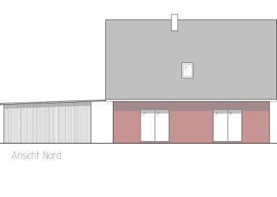 Projekt IV Ansicht Nord