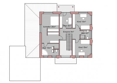 Projekt VI Obergeschoss
