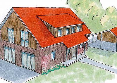 Projekt I – Freistehendes Einfamilienhaus