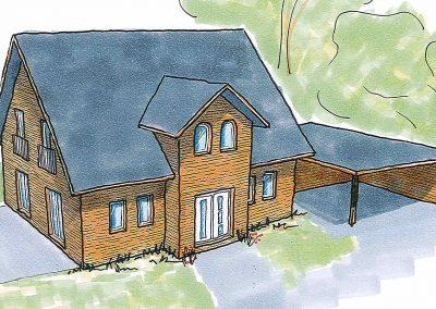 Projekt IV – Freistehendes Einfamilienhaus